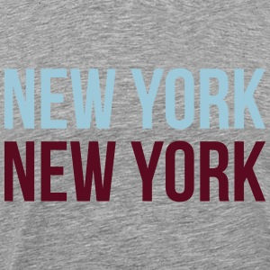 new york new york T-Shirts - Men's Premium T-Shirt