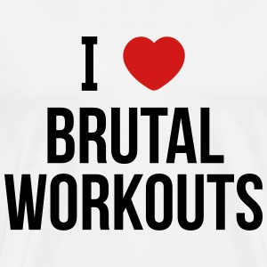 brutal workouts T-Shirts - Men's Premium T-Shirt