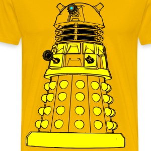 Color Your Own Dalek - Men's Premium T-Shirt