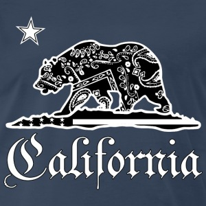 CALIFORNIA BANDANA T-Shirts - Men's Premium T-Shirt