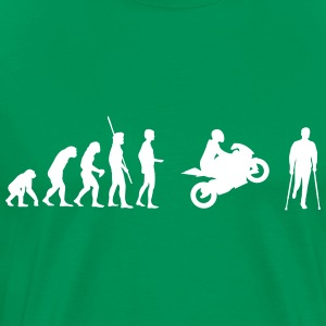 Evolution motorcycle accident Shirt - Men's Premium T-Shirt