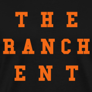 Design ~ Original Men's T 3 Orange on Black