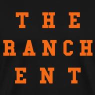 Design ~ Original Men's T 3 Orange on Black
