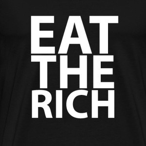 eat_the_rich_tshirts - Men's Premium T-Shirt