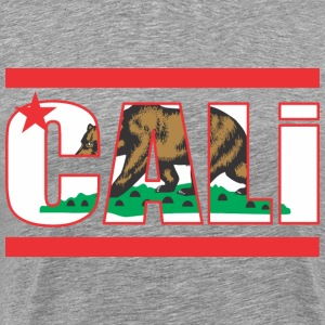 California Bear Flag T-Shirts - Men's Premium T-Shirt