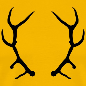 deer head / antlers T-Shirts - Men's Premium T-Shirt