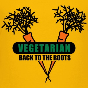 Vegetarian - back to the roots (3c) Kids' Shirts - Kids' Premium T-Shirt