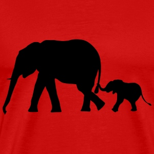Elephants - Elephant T-Shirts - Men's Premium T-Shirt