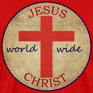 Jesus World Wide T-Shirts - Men's Premium T-Shirt