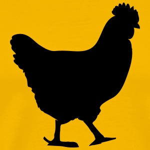 chicken T-Shirts - Men's Premium T-Shirt