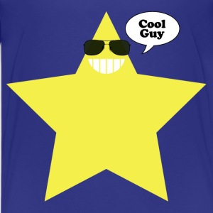 Cool Guy Star Man T - Kids' Premium T-Shirt