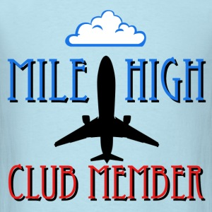 Mile High Club Member - Men's T-Shirt