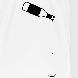 Bottle, empty, empties, drips, runs out T-Shirts - Men's Premium T-Shirt