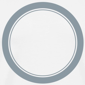 Circle, ring, plate, hole T-Shirts - Men's Premium T-Shirt