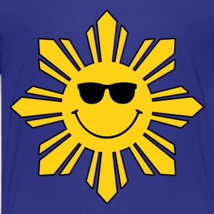 Pinoy Smiling Sun Kids Filipino Tshirt - Kids' Premium T-Shirt