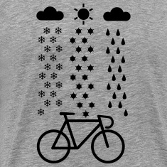 All Seasons Cyclist T-Shirts