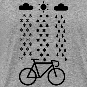 All Seasons Cyclist T-Shirts - Men's Premium T-Shirt