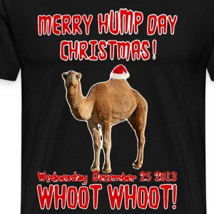 Merry Hump Day Christmas Camel - Men's Premium T-Shirt