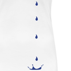 Drops, water drop, rain drop, drip, trickle,liquid Women's T-Shirts - Women's Premium T-Shirt