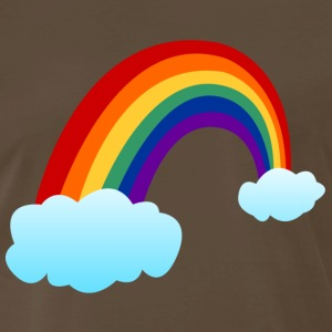 Rainbow clouds Shirt - Men's Premium T-Shirt