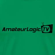 Design ~ AmateurLogic T-Shirt (Black Logo)