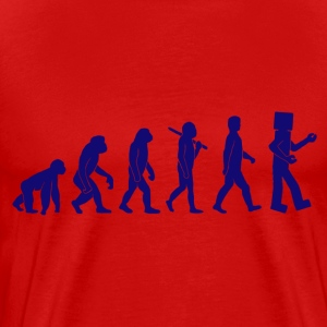 Robotic Evolution - Men's Premium T-Shirt
