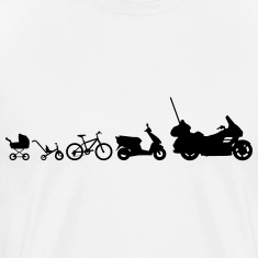 motorcycle evolution Goldwing Shirt