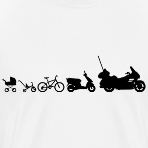 motorcycle evolution Goldwing Shirt - Men's Premium T-Shirt