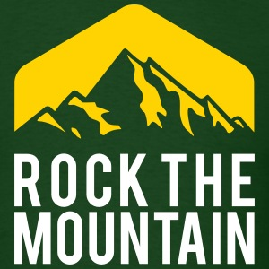 ROCK THE MOUNTAIN T-Shirts - Men's T-Shirt