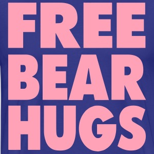 FREE BEAR HUGS T-Shirts - Men's Premium T-Shirt