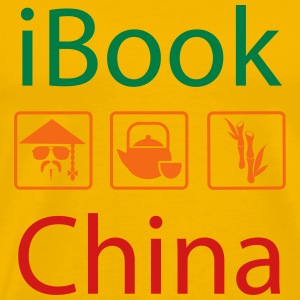 iBook China II T-Shirts - Men's Premium T-Shirt
