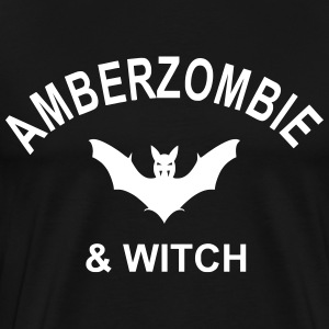 amberzombie and witch T-Shirts - Men's Premium T-Shirt