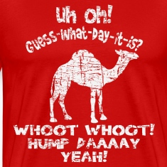 Vintage Distressed Hump Day Camel T-shirt