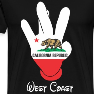 West Coast Cali T-Shirts - Men's Premium T-Shirt