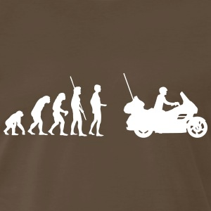 evolution motorcycle Goldwing Shirt - Men's Premium T-Shirt