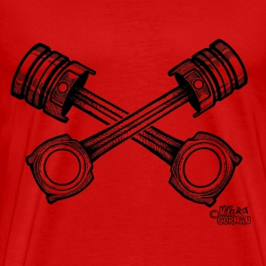 crossed_pistons_ T-Shirts - Men's Premium T-Shirt