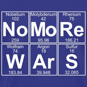 No -Re W-Ar-S (no more wars) - Full T-Shirts - Men's Premium T-Shirt