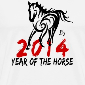 Year of The Horse 2014 T-Shirt - Men's Premium T-Shirt