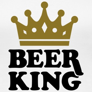 Beer King Women's T-Shirts - Women's Premium T-Shirt