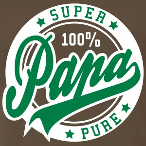 100 percent PURE SUPER PAPA 2C Tee GW - Men's Premium T-Shirt