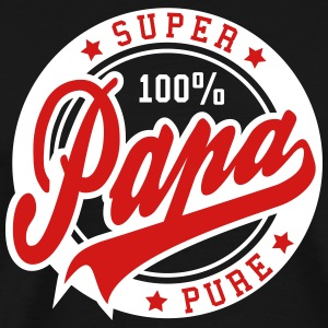 100 percent PURE SUPER PAPA 2C Tee RW - Men's Premium T-Shirt