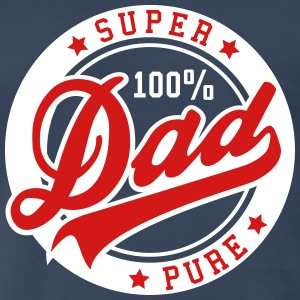 100 percent PURE SUPER DAD 2C T-Shirt RW - Men's Premium T-Shirt