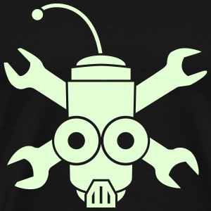 GITD Robo Pirate - Men's Premium T-Shirt
