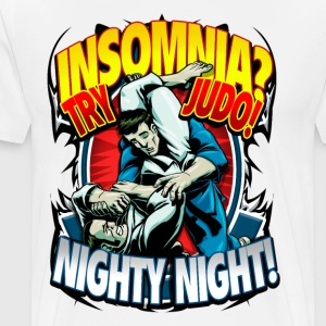 Judo Kids T-shirt Insomnia? Try Judo! Nighty Night - Men's Premium T-Shirt