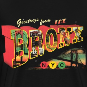New York Bronx Post Card  T-Shirts - Men's Premium T-Shirt