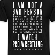 Design ~ Bad Person 3XL/4XL T-shirt