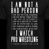 Design ~ Bad Person 3XL/4XL T-shirt
