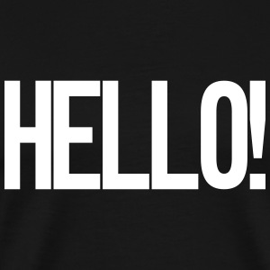 Hello T-Shirts - Men's Premium T-Shirt