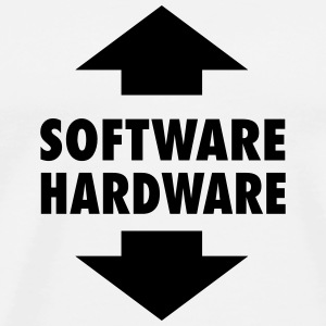 Software Hardware T-Shirts - Men's Premium T-Shirt