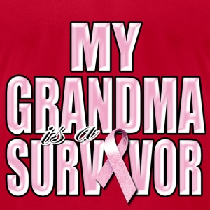My Grandma Is A Survivor T-Shirts - Men's T-Shirt by American Apparel